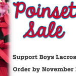 Boys Lacrosse – Poinsettia Fundraiser