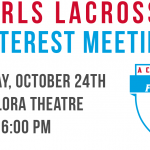 Girls Lacrosse Meeting and Workouts
