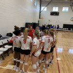 Varsity Volleyball beats Berkeley 2 – 0 (pool play)