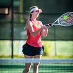 Photos: Girls Varsity Tennis vs Dreher – 10/17/19