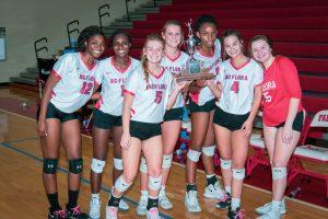 Photos: Varsity Volleyball vs Dreher – Senior Night – 10/17/19