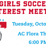 Girls Soccer Interest Meeting