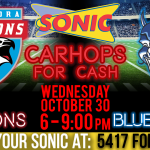 Sonic Carhops for Cash this Wednesday