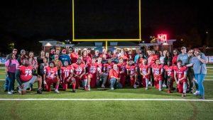 Photos: Senior Night – Football, Cheer, Band, JROTC – 10/25/19