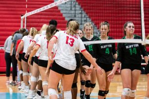 Photos: Varsity Volleyball vs Bluffton – 10/29/19