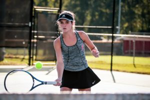 Photos: Girls Varsity Tennis vs Bluffton – 10/28/19
