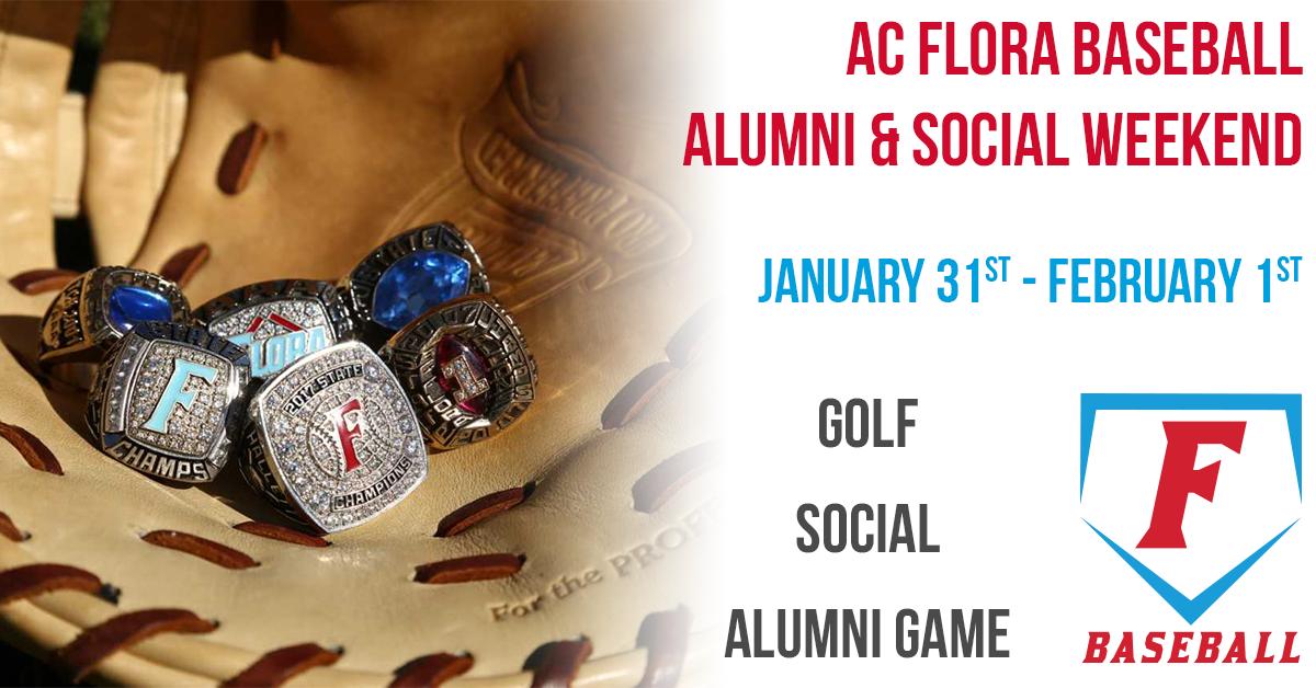 2020 Baseball Alumni Weekend – Golf, Social, and Alumni Game