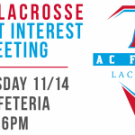 Boys Lacrosse Parent Interest Meeting