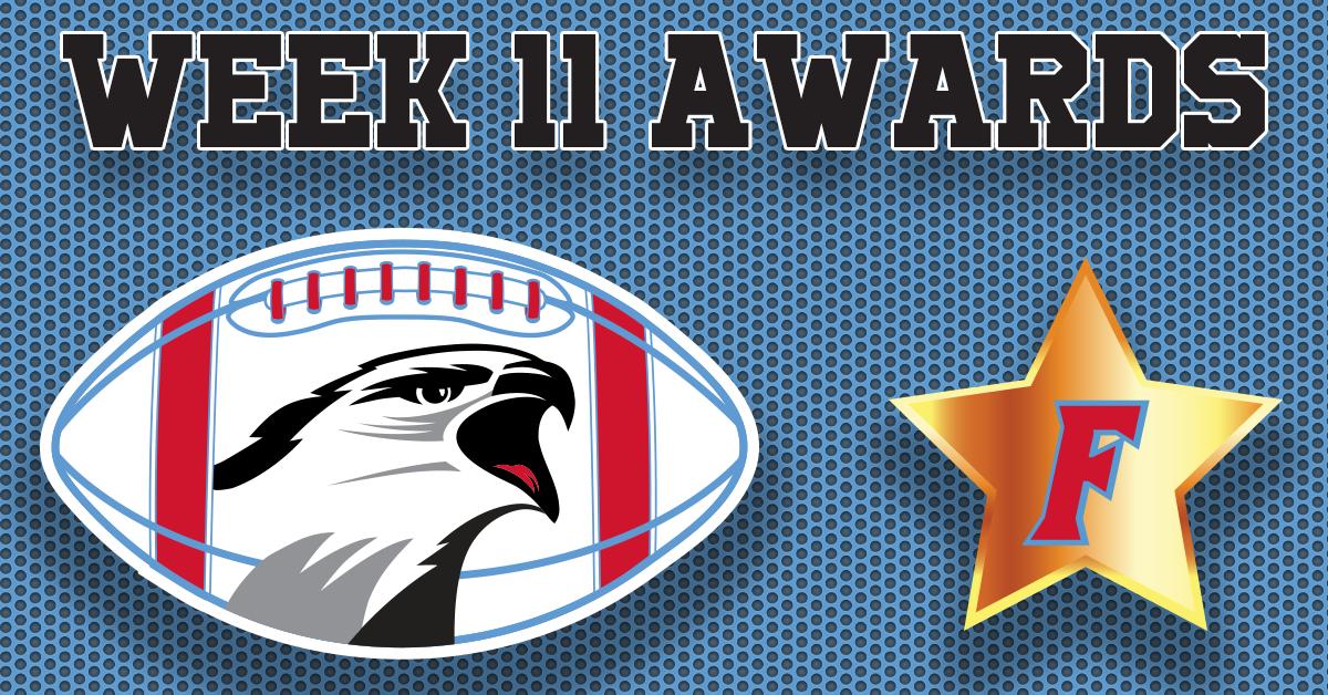 Football Awards – Week 11