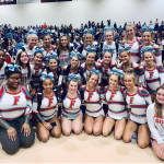 Varsity Cheer Places 3rd at State Qualifiers
