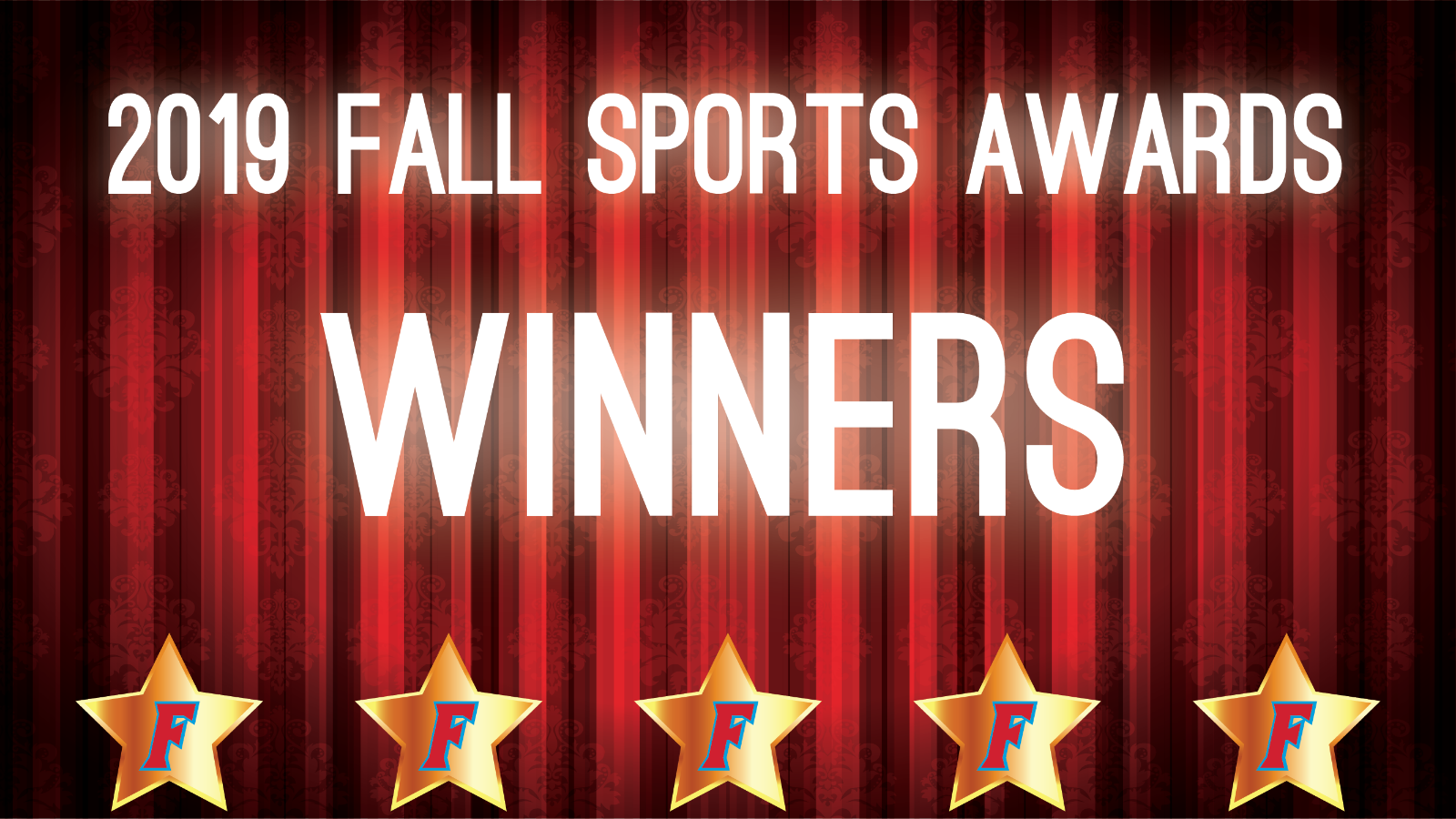 2019 Fall Sports Awards Winners, Slideshow, and Photos