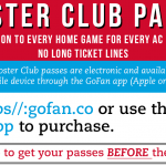 Booster Club Passes – Free Entry for All Home Events