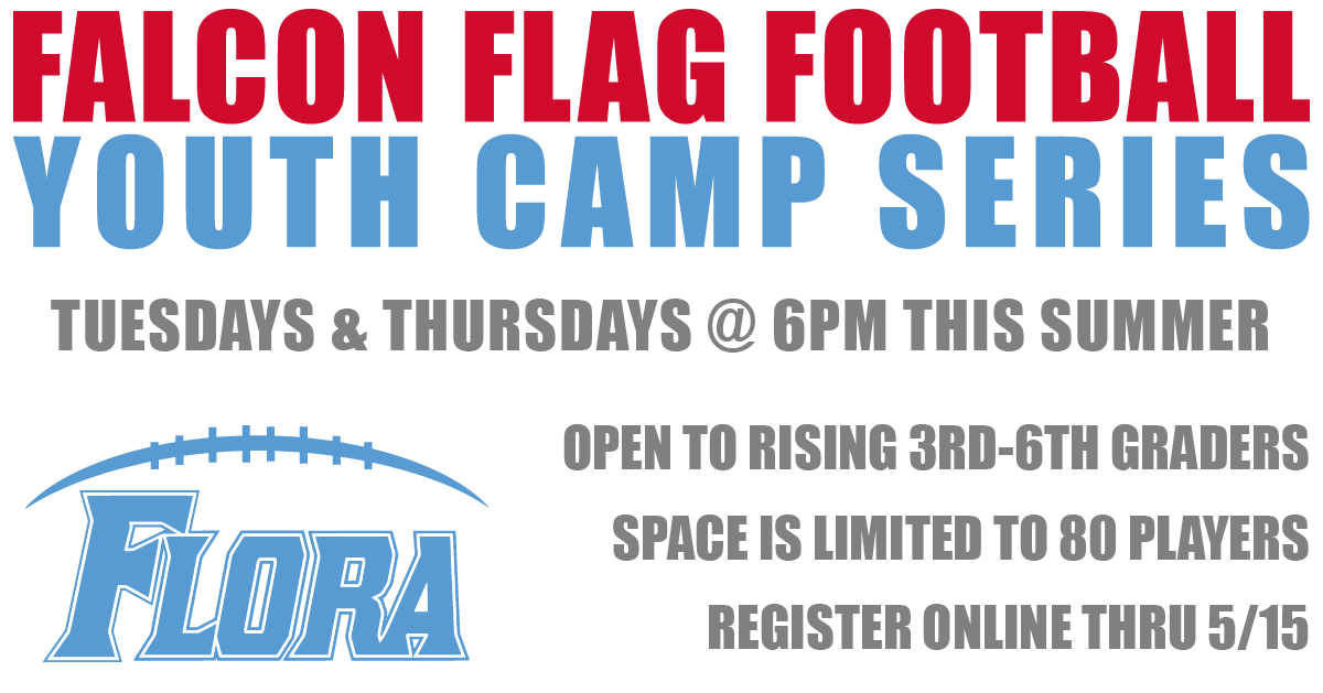 Falcon Youth Flag Football Camp This Summer