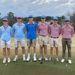 Boys Varsity Golf Finishes Second in Frog-Strangling Deluge In Lexington