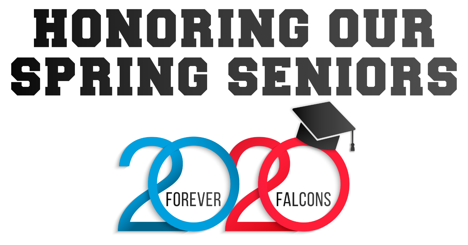 Honoring Our Spring Sports Seniors