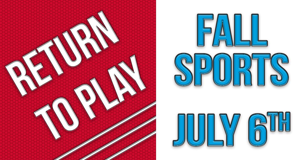 Return To Play – Fall Sports