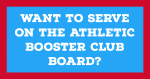 Want to serve on the Athletic Booster Club Board?