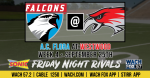 Friday Night Football – Falcons vs Redhawks – Limited Tickets Available