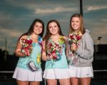 Photos: Girls Varsity Tennis vs Lugoff-Elgin – Senior Night – 10/6/20