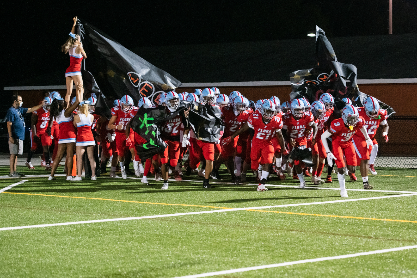 Photos: Varsity Football vs Irmo – 10/9/20