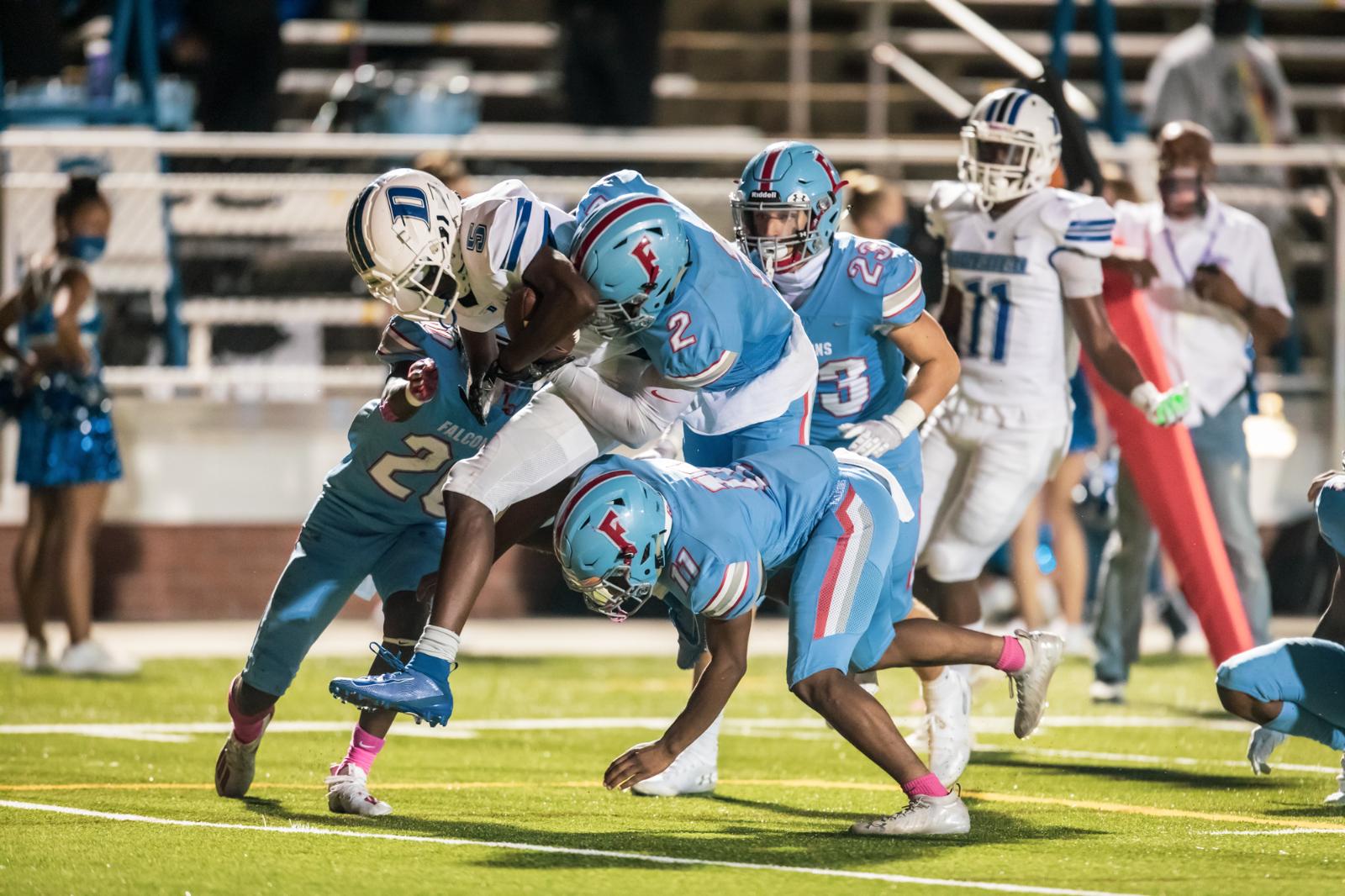 Photos: Varsity Football vs Dreher – 10/23/20