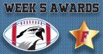 Football Awards – 2020 Week 5