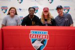 Four Falcons Sign to Play in College
