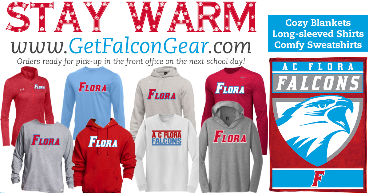 It's Getting Chilly! Grab Some Falcon Winter Gear!