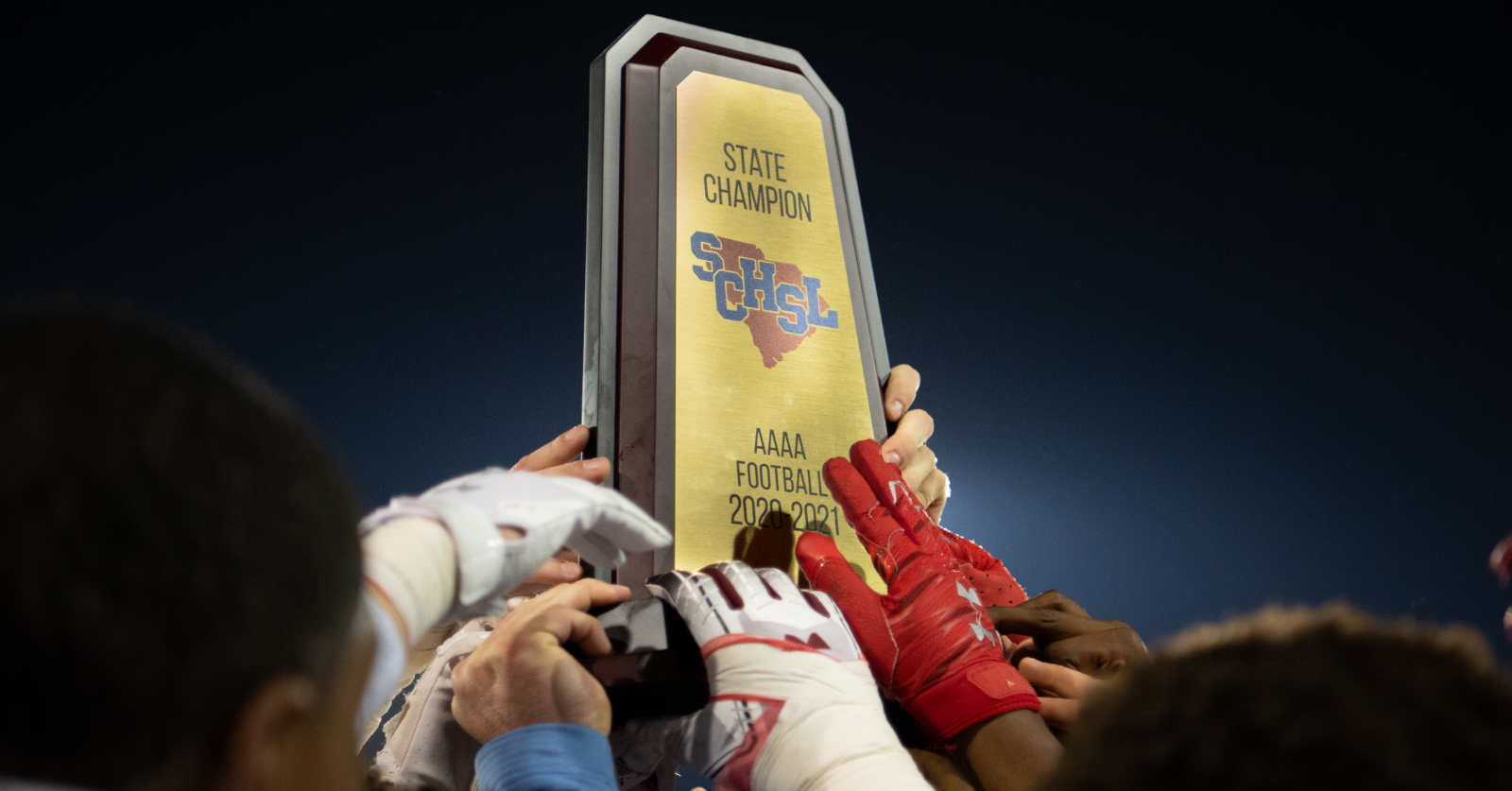 Dominating Team Effort Powers AC Flora to its First Football State Championship