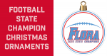 Football State Champion Christmas Ornaments