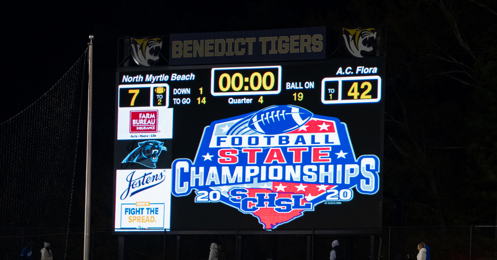 Photos: Varsity Football State Championship – 12/5/20