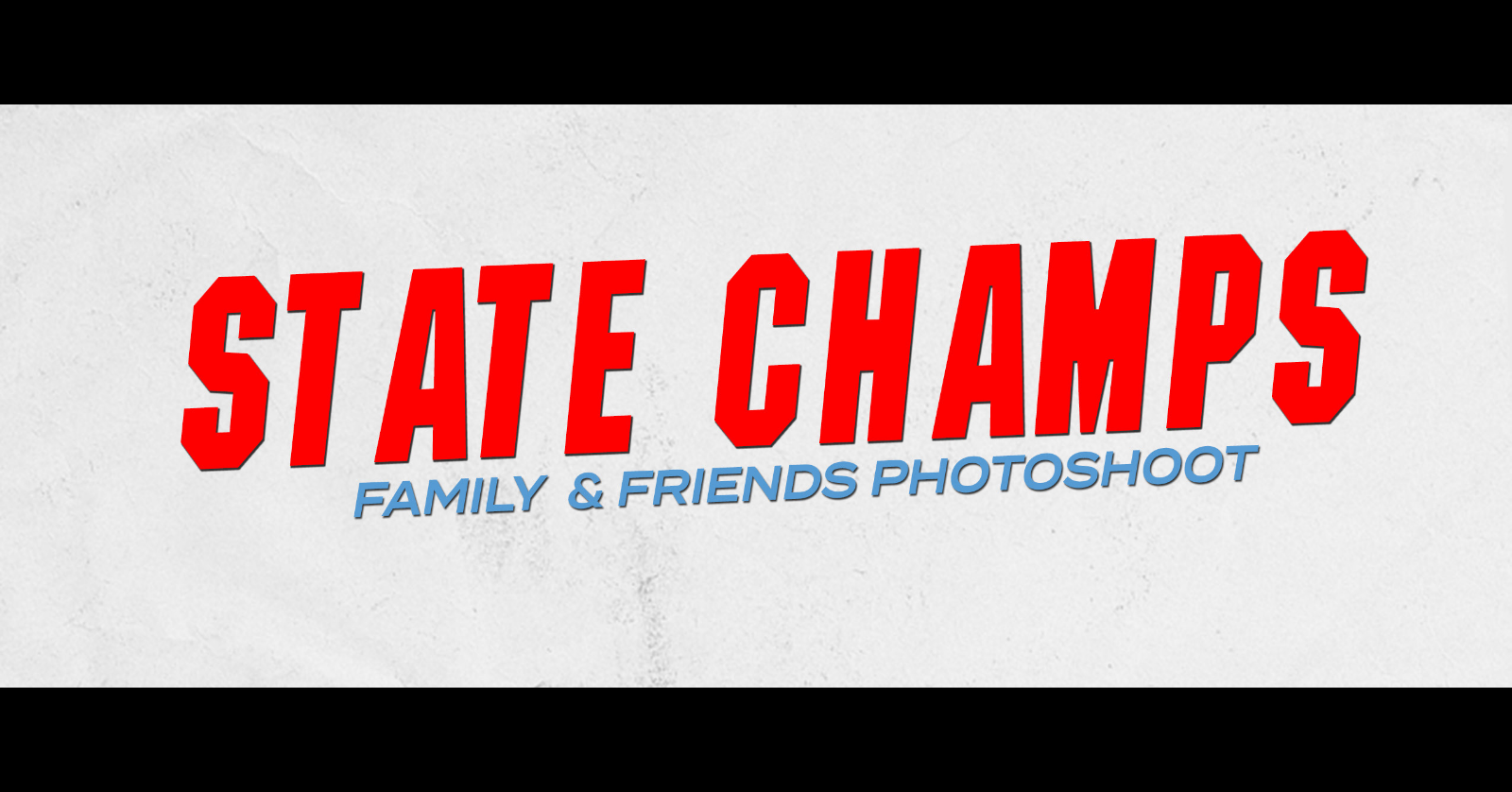 Football State Championship Family and Friends Photoshoot