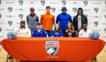 Nine Falcons Sign to Play in College