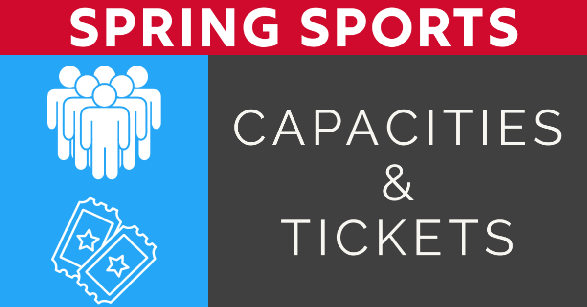 Spring Sports – Capacities and Tickets