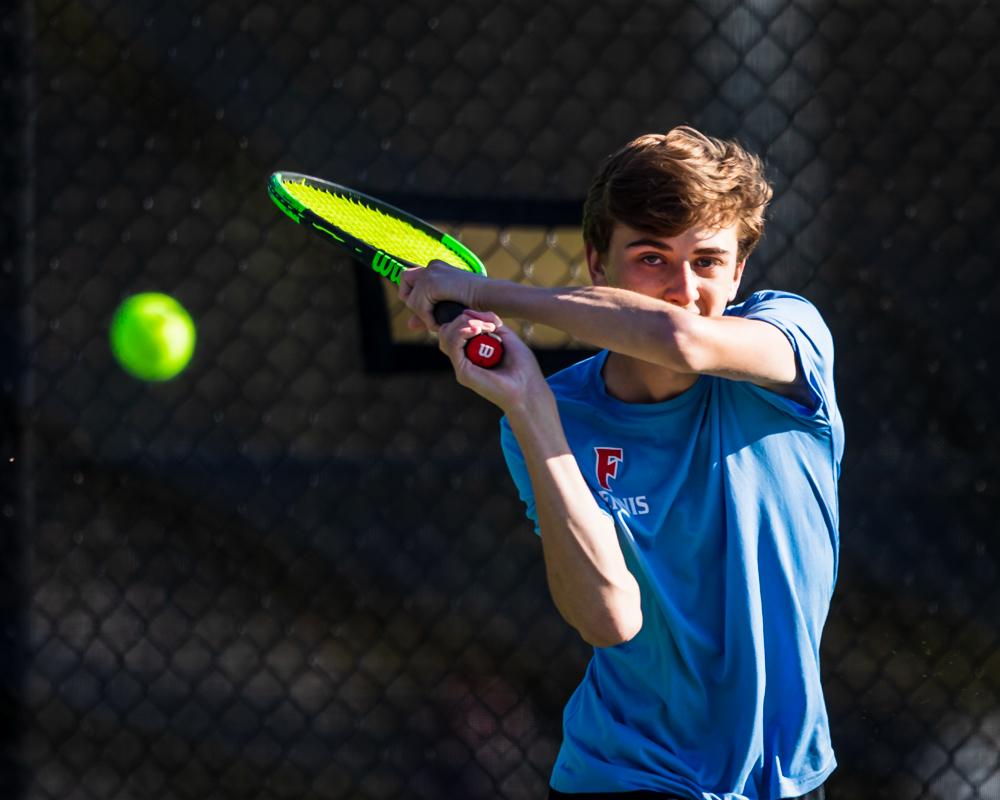 Photos: Boys Varsity Tennis vs Chapin – 4/1/21
