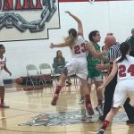 Girls Varsity Basketball falls to Akron Fairgrove 56 – 41