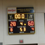 Boys Freshman Basketball beats LakeVille 60 – 28