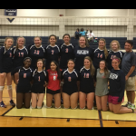 Oak Mountain High School Girls Junior Varsity Volleyball beat John Carroll Catholic High School 2-0