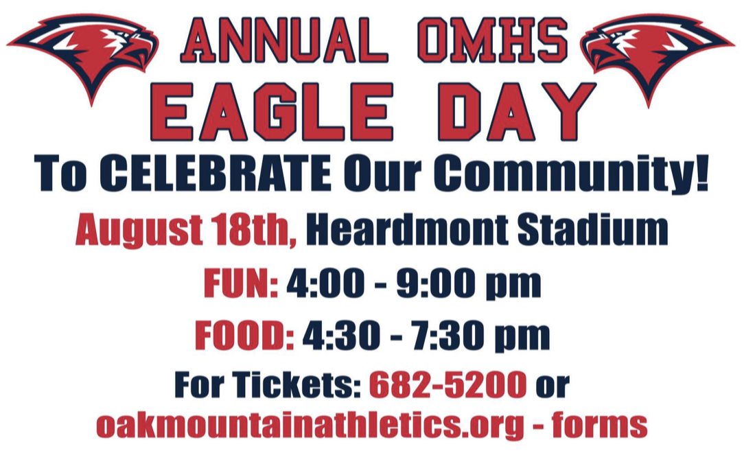 Annual OMHS Eagle Day 2018!