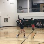 JV Falls to Pelham in 3 Sets