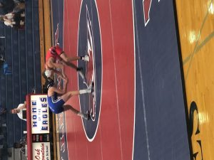 Eagles defeat Chelsea in wrestling 58-24