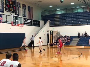 Eagles defeat Warriors in 9th grade BB