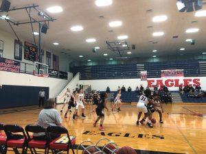 JV Girls defeat the Warriors 44-25