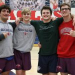 Wrestling team defeats Mtn. Brook on Senior Night 48-14
