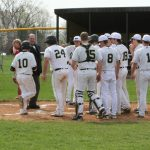 Delphi Community High School Varsity Baseball beat Rossville High School 13-3