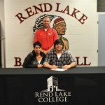 Clark signs with Rend Lake