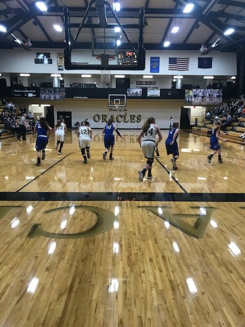 Lady Oracles hammer Carroll for Win #10