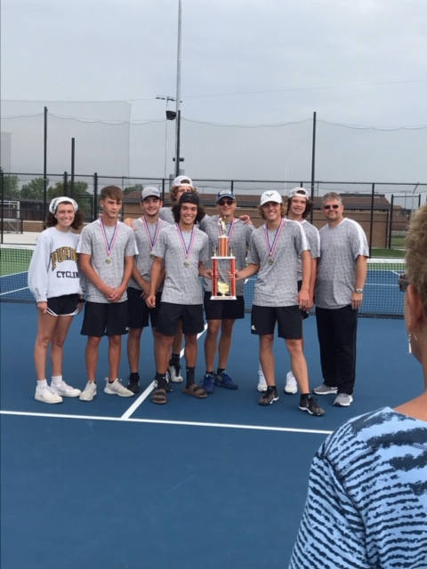 Oracle Boys Tennis wins Hoosier Heartland Conference