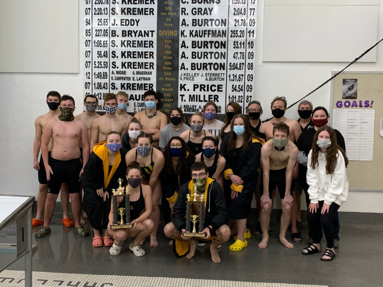 Oracle Swim Teams Win Invitational