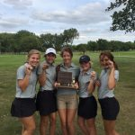 Archbishop Bergan High School Girls Varsity Golf finishes 1st place